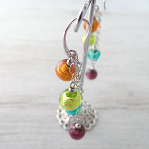 Arlechin - Multicolor Murano Glass Earrings
