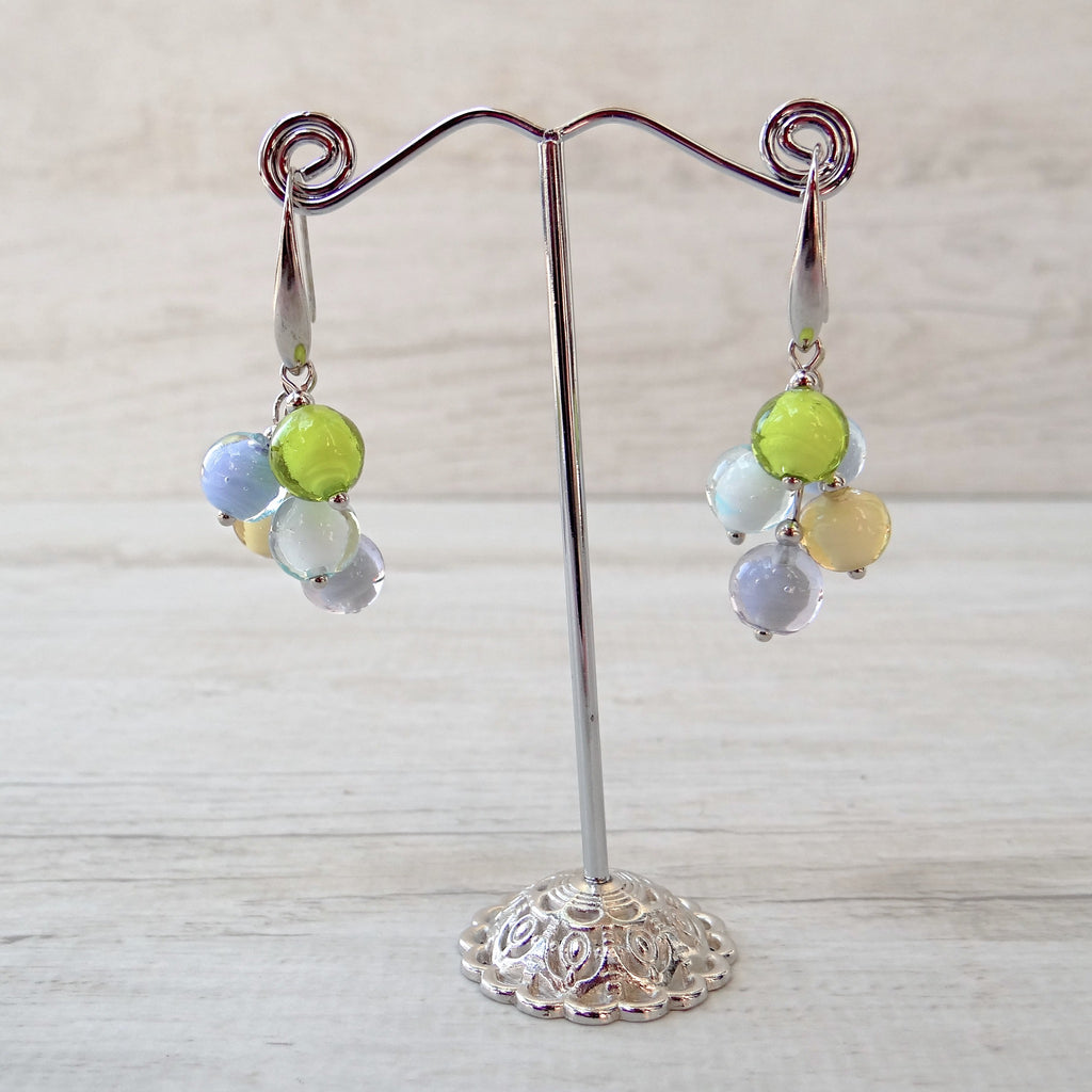 Bòvolo - Light Murano Glass Earrings