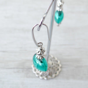 Schèi - Blue Lagoon Murano Glass Earrings