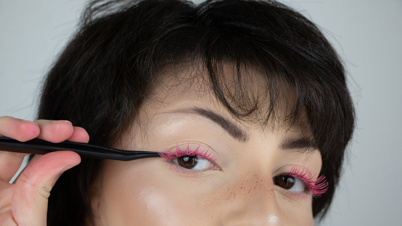 Breaking Down Instagram's Colourful Lash Trend