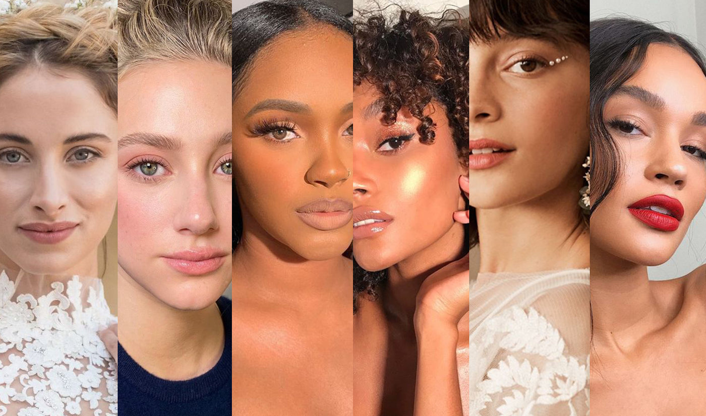 Six Bridal Makeup Looks <br>For The Modern Bride