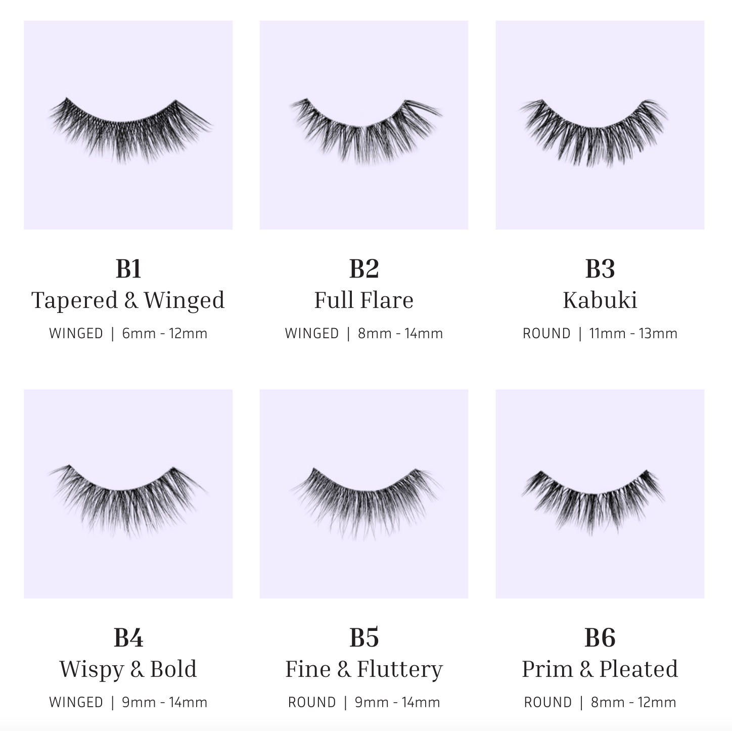New Bold Collection Lash Styles   Lithe Lashes