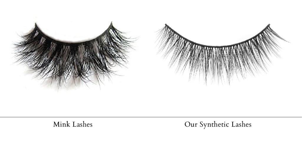 Blog_Lithe Lashes_Mink vs. Synthetic Lashes — And Why We Chose Synthetic_second image_competitor mink lash vs lithe synthetic cruelty free lashes