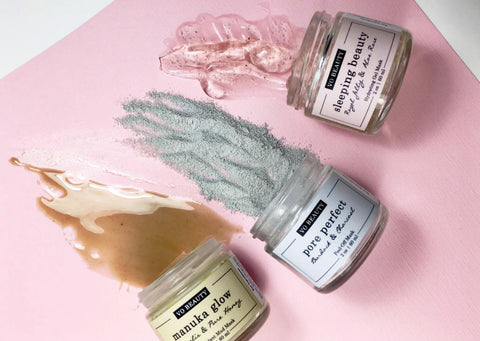lithe lashes blogs 10 local eco brands VO beauty clay mud peel off masks