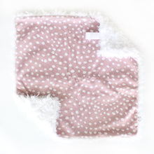 Load image into Gallery viewer, Scalloped Dots Lovey - Desert Fawn