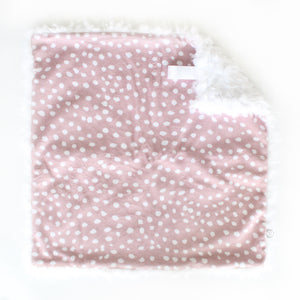 Scalloped Dots Lovey - Desert Fawn