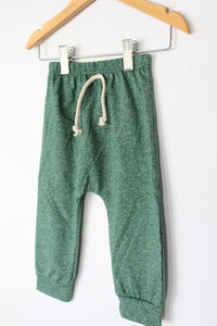 Jogger Set - Heathered Green - Desert Fawn