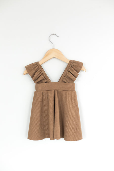 Overall This Dress - Desert Fawn