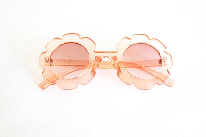 Retro Flower Sunnies in Sheer Pink - Desert Fawn