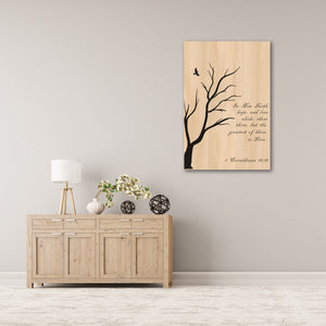 Psalm 37:4  - Gallery Wrap Canvas (Various Sizes)