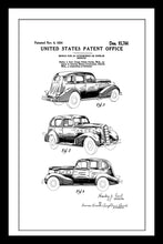Load image into Gallery viewer, 1934 Lasalle Car Patent - Gallery Wrap Canvas w/ COA (Various Sizes)