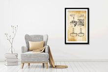 Load image into Gallery viewer, Atari Jockstick Patent Print - Gallery Wrap Canvas w/ COA (Various Sizes)