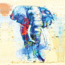 Load image into Gallery viewer, Safari: Elephant 02 - Gallery Wrap Canvas w/ COA (Various Sizes)