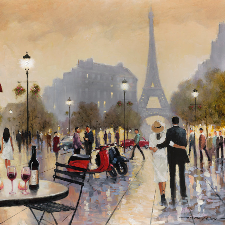 Paris, France, Canvas Prints, Giggle, Oversize canvas, custom Canvas,