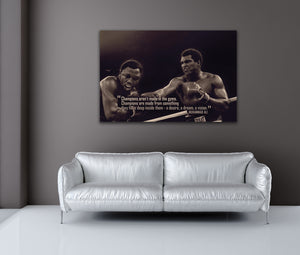 Muhammad Ali: Champ - Gallery Wrap Canvas w/ COA (Various Sizes)