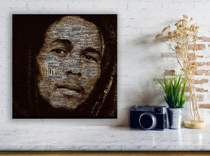 Bob Marley - Gallery Wrap Canvas w/ COA (Various Sizes)