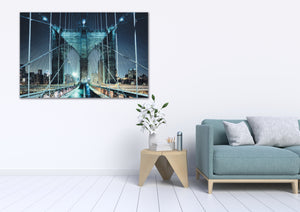 Brooklyn Bride NYC  - Gallery Wrap Canvas w/ COA (Various Sizes)