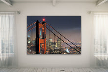Load image into Gallery viewer, Golden Gate Bride San Francisco  - Gallery Wrap Canvas w/ COA (Various Sizes)