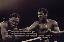 Load image into Gallery viewer, Muhammad Ali: Champ - Gallery Wrap Canvas w/ COA (Various Sizes)