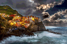 Load image into Gallery viewer, Manarola - Gallery Wrap Canvas w/ COA (Various Sizes)
