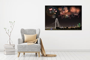 Dallas Bridge - Gallery Wrap Canvas w/ COA (Various Sizes)