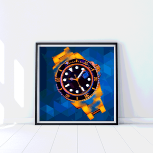 Eye on the Prize Watch - Gallery Wrap Canvas w/ COA (Various Sizes)