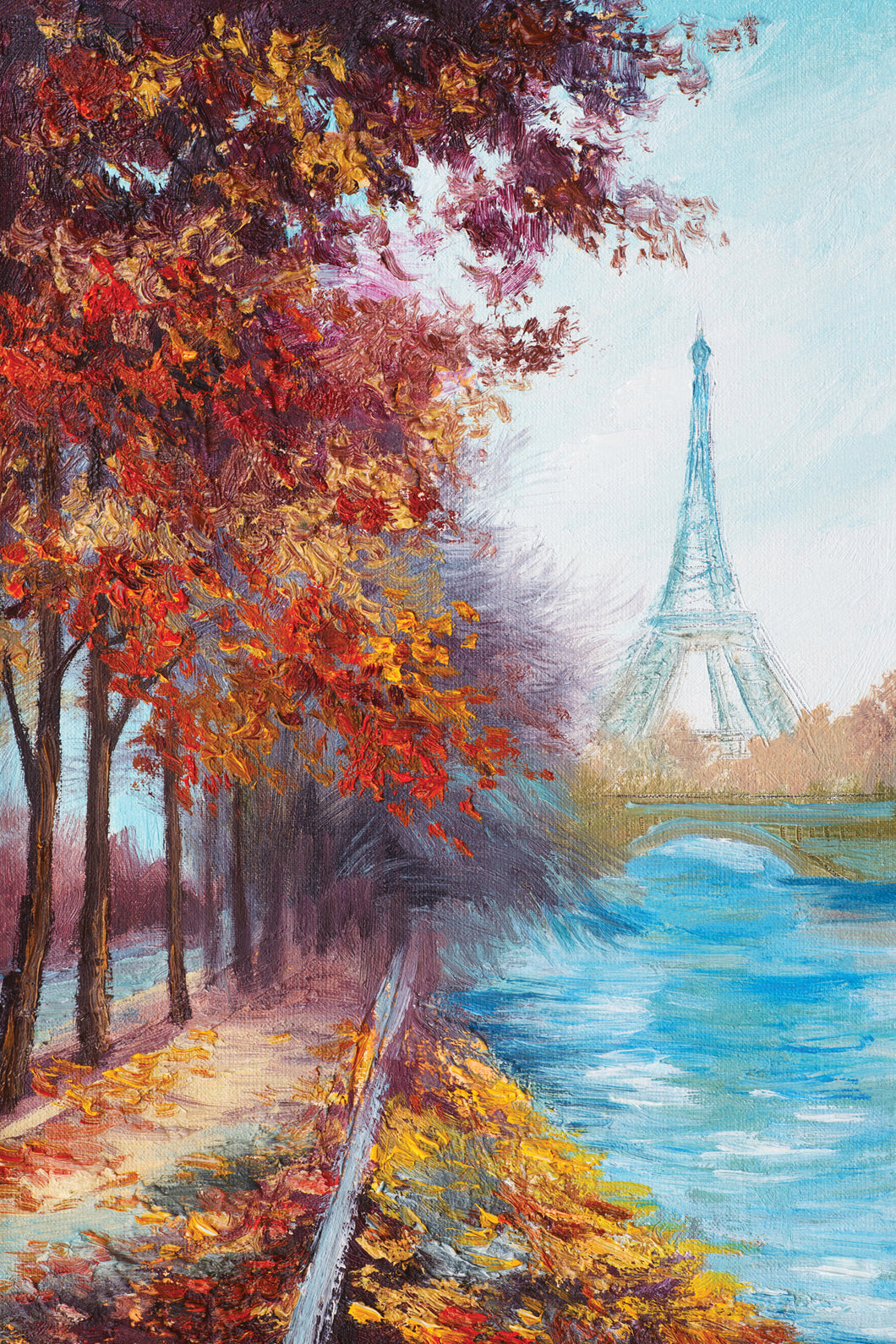 Eiffel Tower 02 - Gallery Wrap Canvas w/ COA (Various Sizes)