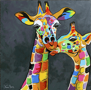 Francie & Josie McZoo - Steven Brown - Gallery Wrap Canvas w/COA (Various Sizes)
