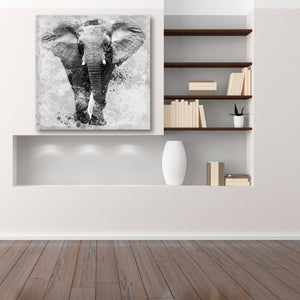 African Elephant - Gallery Canvas w/ COA (Various Sizes)