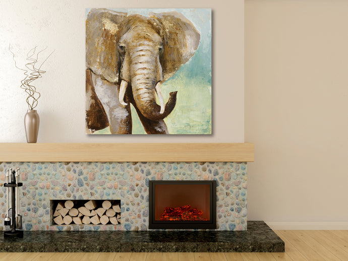 African Elephant 3 - Gallery Wrap Canvas w/ COA (Various Sizes)