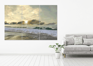 Shimmering Sea - Gallery Wrap Canvas w/ COA (Various Sizes)