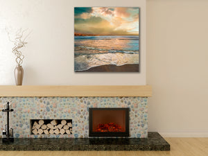 Waves of Light - Gallery Wrap Canvas w/ COA (Various Sizes)