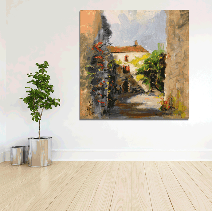 Provence Village - Gallery Wrap Canvas w/ COA (Various Sizes)
