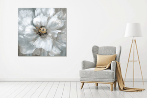 White Flower - Gallery Wrap Canvas w/ COA (Various Sizes)