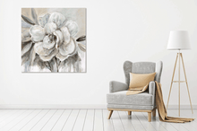 Load image into Gallery viewer, White Flower 2 - Gallery Wrap Canvas w/ COA (Various Sizes)