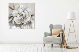 White Flower 2 - Gallery Wrap Canvas w/ COA (Various Sizes)
