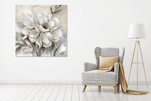 White Flower 3 - Gallery Wrap Canvas w/ COA (Various Sizes)