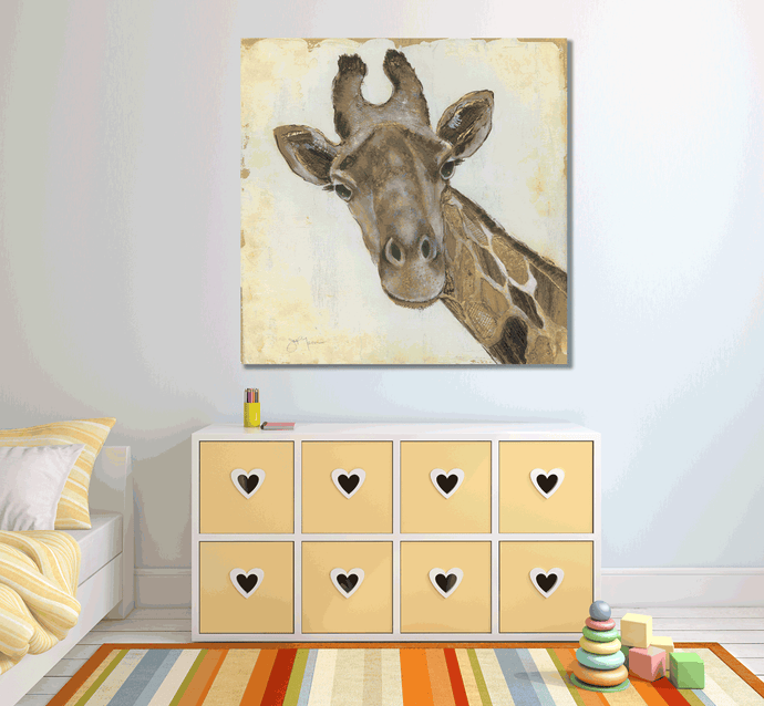 Giraffe - Gallery Wrap Canvas w/ COA (Various Sizes)