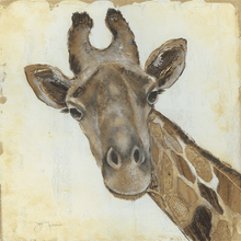 Load image into Gallery viewer, Giraffe on Canvas