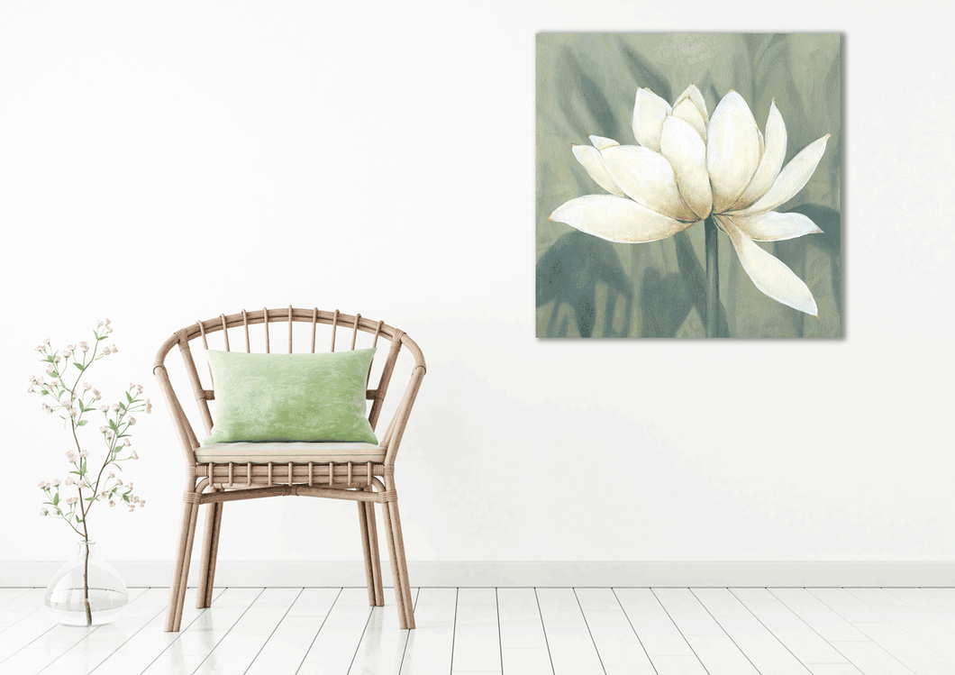 White Flower 5 - Gallery Wrap Canvas w/ COA (Various Sizes)