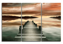 Load image into Gallery viewer, Crystal Pier - Gallery Wrap Canvas w/ COA (Various Sizes)