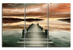 Crystal Pier - Gallery Wrap Canvas w/ COA (Various Sizes)