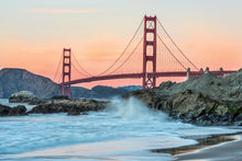 Load image into Gallery viewer, Golden Gate Bride San Francisco 03 - Gallery Wrap Canvas w/ COA (Various Sizes)