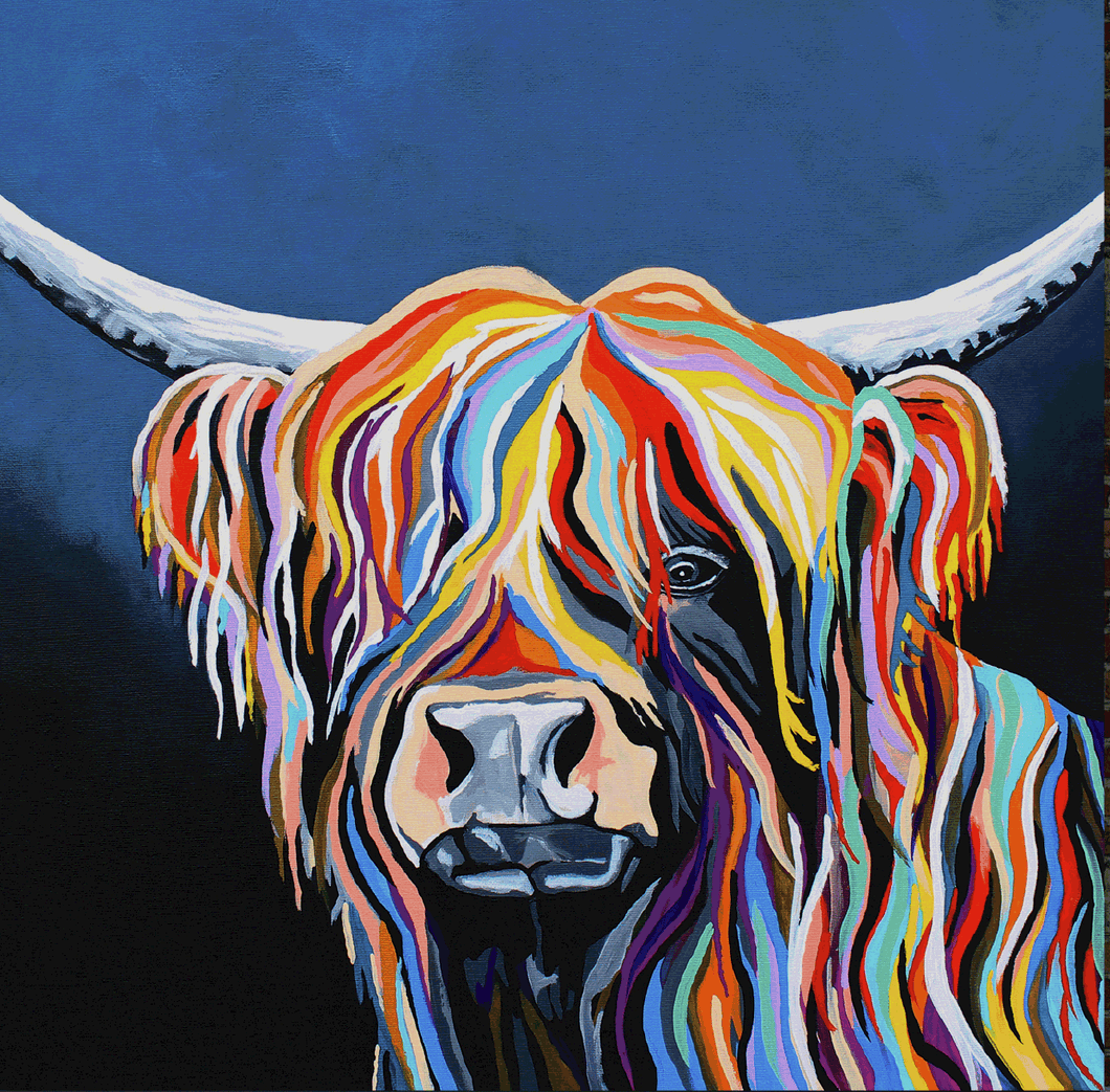 Harris McCoo - Steven Brown - Gallery Wrap Canvas w/ COA (Various Sizes)