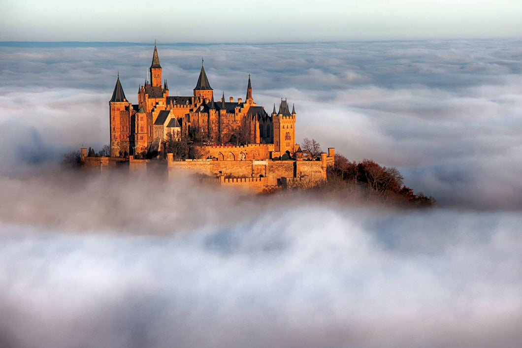 Hohenzollern Castle  - Gallery Wrap Canvas w/ COA (Various Sizes)