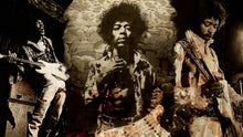 Load image into Gallery viewer, Jimmy Hendrix 01 - Gallery Wrap Canvas w/ COA (Various Sizes)