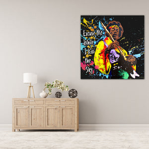 Jimmy Hendrix - Gallery Wrap Canvas w/ COA (Various Sizes)