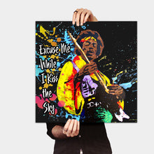 Load image into Gallery viewer, Jimmy Hendrix - Gallery Wrap Canvas w/ COA (Various Sizes)