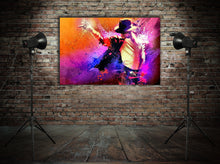 Load image into Gallery viewer, King of Pop MJ  - Gallery Wrap Canvas w/ COA (Various Sizes)