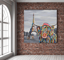 Load image into Gallery viewer, Eiffel Tower, Paris: McCoo's on Tour - Steven Brown - Gallery Wrap Canvas w/ COA